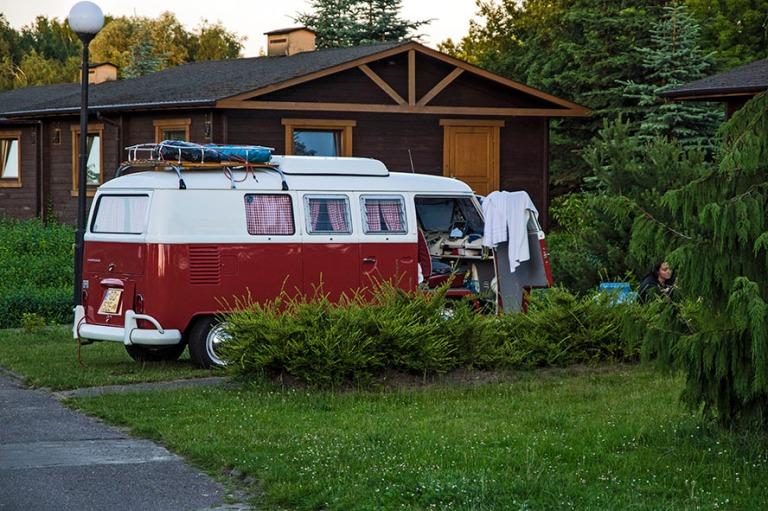 PL_150630 Puola_0210 VW Kleinbus Campingwagen Szczecinin leeirin