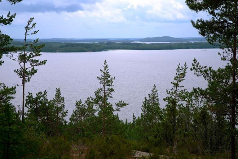 FI_200704 Suomi_0084 Päijänteen kansallispuiston Tehinselkä P