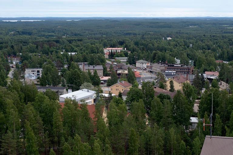 FI_200705 Suomi_0140 Outokummun kaupunkia kaivostornista Pohjois