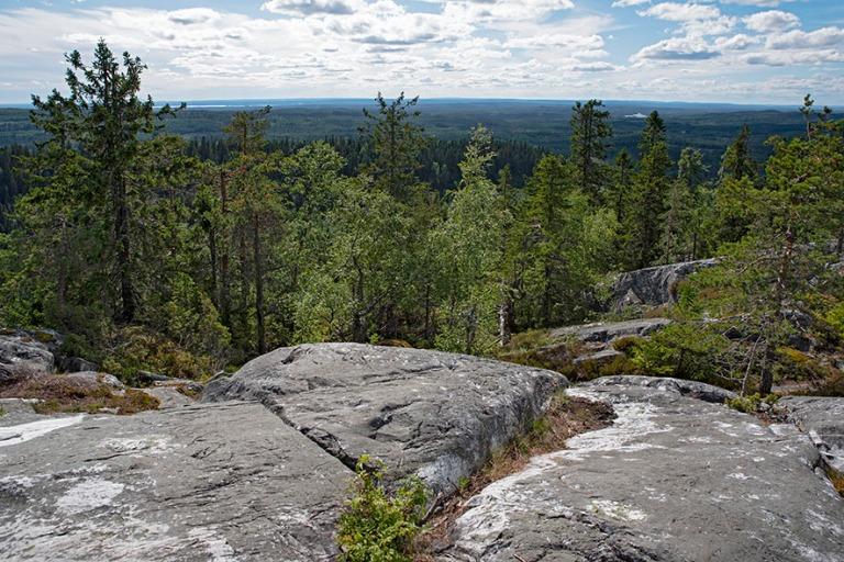 FI_200705 Suomi_0230 Kolin kansallispuiston Akka-Kolin panoraama