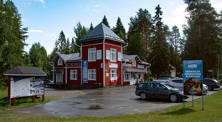 FI_200706 Suomi_0006 Kolin keskustaa Pohjois-Karjalassa